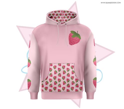 PINK STRAWBERRY | HOODIE | ORIGINAL