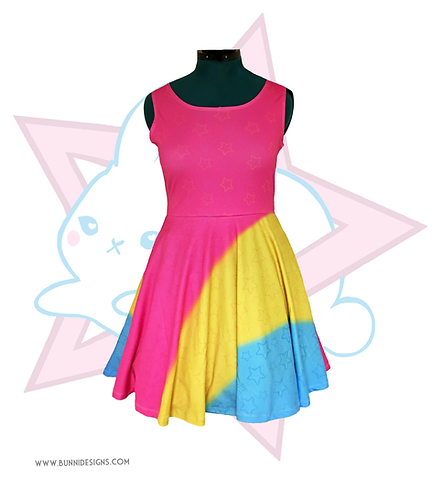 PAN PRIDE | SKATER DRESS | PRIDE