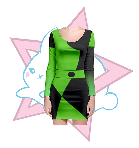 SHEGO | BODYCON DRESS | KIM POSSIBLE