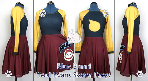 SOUL | LONG SLEEVE SKATER DRESS | SOUL EATER