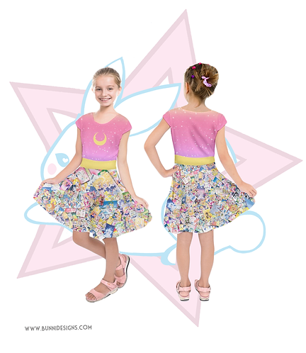 SAILOR MOON MANGA | DRESS | SAILOR MOON | KIDS