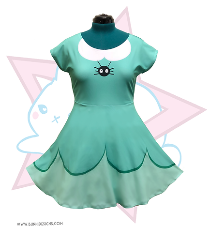 STAR BUTTERFLY SPIDER | SHORT SLEEVE DRESS | STAR VS THE FORCES OF EVIL
