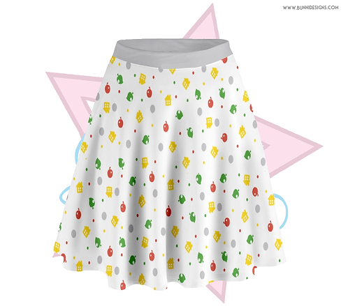 AC POP-TART | SKATER SKIRT | ANIMAL CROSSING