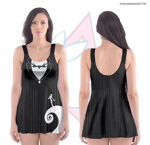 JACK SKELLINGTON | SWIM DRESS | NIGHTMARE BEFORE CHRISTMAS