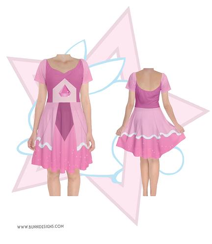 PINK DIAMOND | PRINCESS BARDOT DRESS | STEVEN UNIVERSE