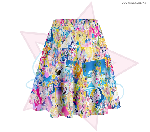 SAILOR MOON MANGA | SKATER SKIRT | SAILOR MOON