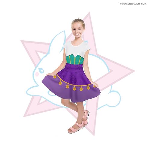 ESMERALDA |  DRESS | HUNCHBACK OF NOTRE DAME | DISNEY | KIDS