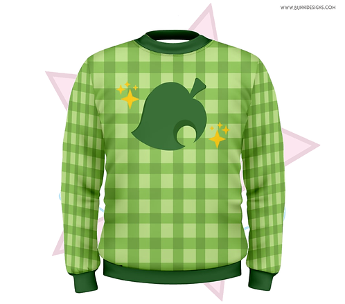 ISABELLE GINGHAM | SWEATER | ANIMAL CROSSING | AC