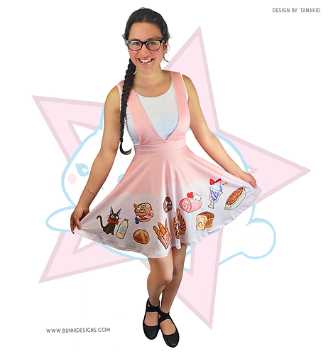 KIKI'S BAKERY | PINAFORE PLUNGE DRESS | KIKI'S DELIVERY SERVICE | STUDIO GHIBLI