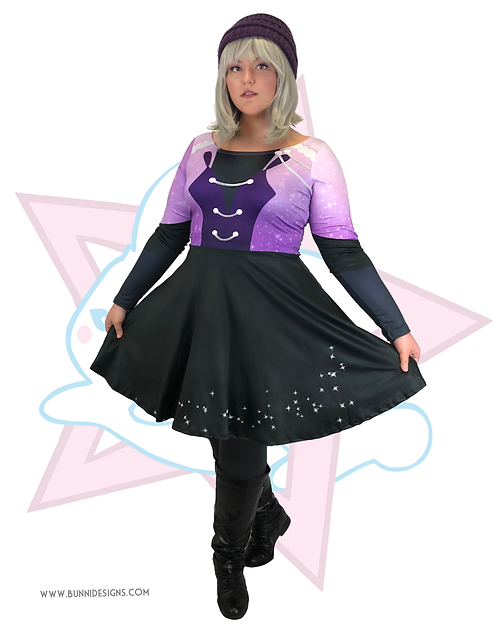 VICTOR ARIA: STAY CLOSE TO ME - PURPLE | SKATER DRESS | YURI!!! ON ICE | YOI