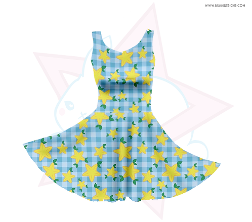 PAOPU FRUIT | SKATER DRESS | KINGDOM HEARTS