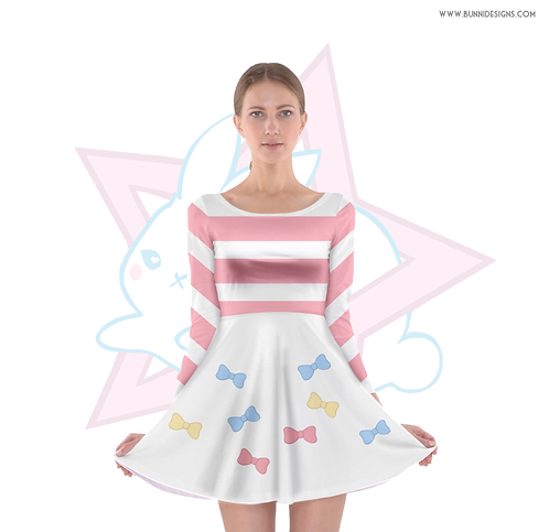 BEE BOWS | SKATER DRESS | BEE & PUPPYCAT