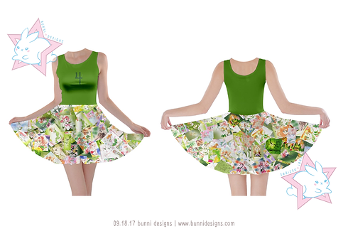 SAILOR JUPITER MANGA | SLEEVELESS SKATER DRESS | SAILOR MOON