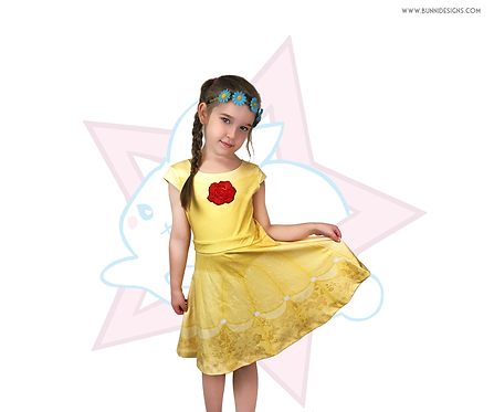 BELLE | DRESS | BEAUTY AND THE BEAST | KIDS