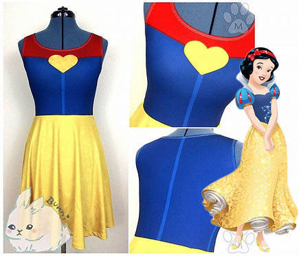 SNOW WHITE | SLEEVELESS SKATER DRESS | SNOW WHITE | DISNEY