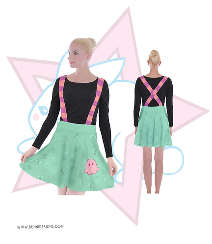 STAR BUTTERFLY | SUSPENDER SKIRT | SVTFOE