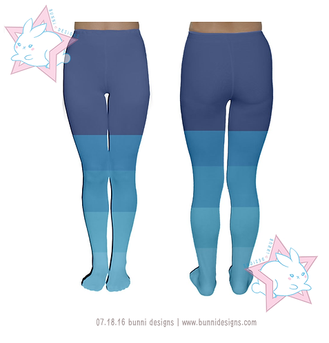 STAR BUTTERFLY BLUE HUE CLOUDY | TIGHTS / LEGGINGS | SVTFOE