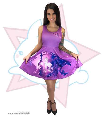 LAST UNICORN | SKATER DRESS | THE LAST UNICORN