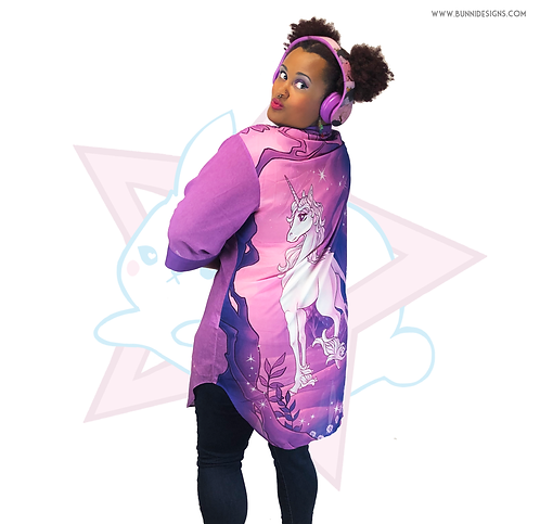 THE LAST UNICORN | CHIFFON HAORI CARDIGAN