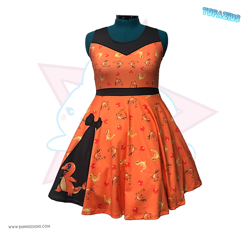 CHARMANDER | SKATER DRESS | POKEMON