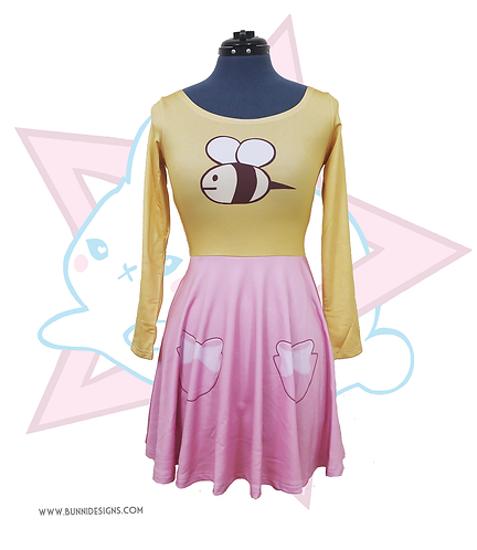 BEE | SKATER DRESS | BEE & PUPPYCAT