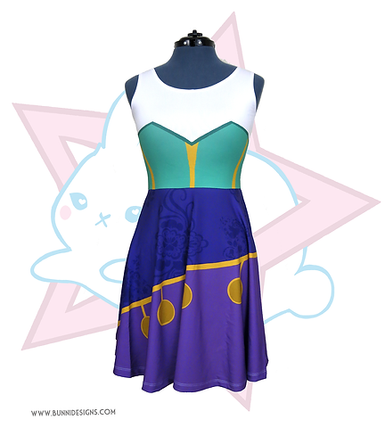 ESMERALDA | SKATER DRESS | HUNCHBACK OF NOTRE DAME | DISNEY