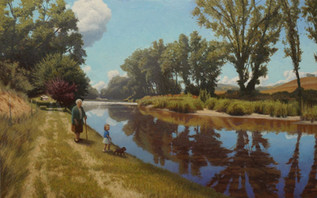 """""""Afternoon Walk by the Pigeon River"""""""