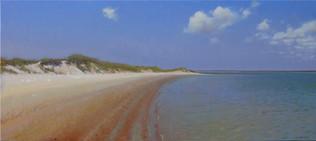 """""""Topsail Sandbar in Morning Sun"""""""