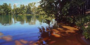 """""""Dappled Sunlight on Lake Keowee"""""""