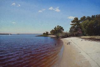 """""""Morning on Mellissa's Beach""""i"""