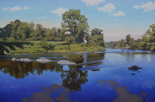 """Pigeon River Morning"""