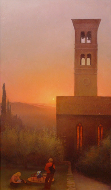 """Cortona- Bells at Sunset"""