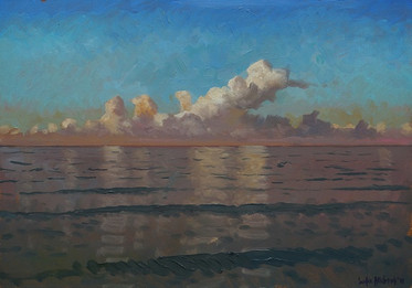 """Topsail Early Morning Cloudbank"""