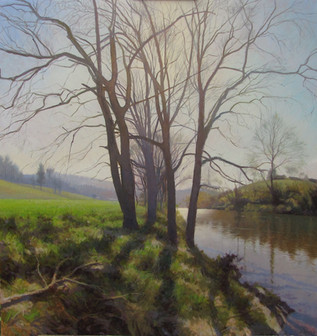 """""""Walnut Trees in Early Spring"""""""