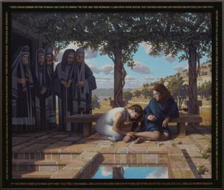 """Woman Encounters Christ"""