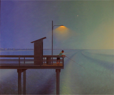 """Vacation Pier at Dawn"""