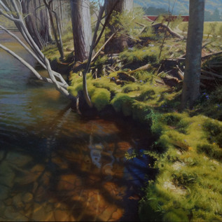 """Riverbank on a Spring Afternoon"""