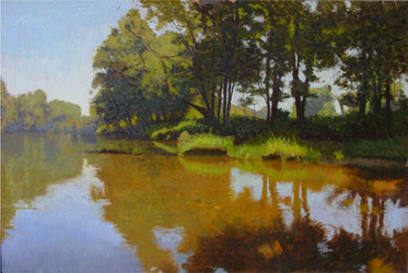 """The Riverbank Golden Shallows"""