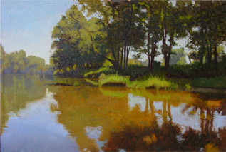 """The Riverbank Golden Shallows"""
