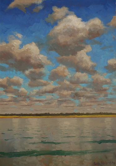 """""""Topsail-Morning Clouds on the Sound"""""""