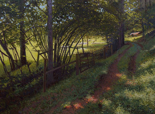 """""""A Pathway in the Woods- Study"""""""