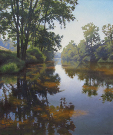 """September on the Pigeon River"""