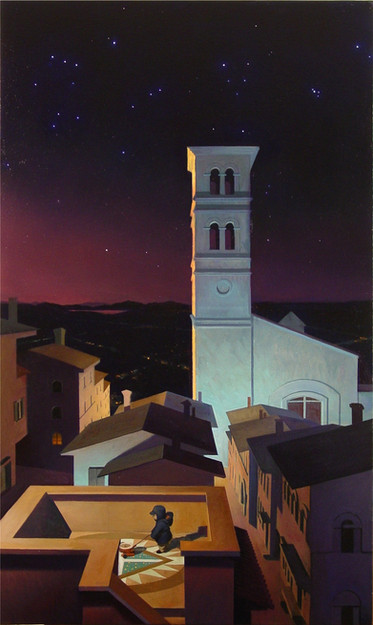 """Night in Italy"""