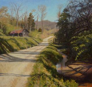 """Homestead- Morning Tree Shadows"""