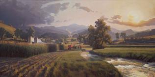 """Harvest Under a Passing Storm"""