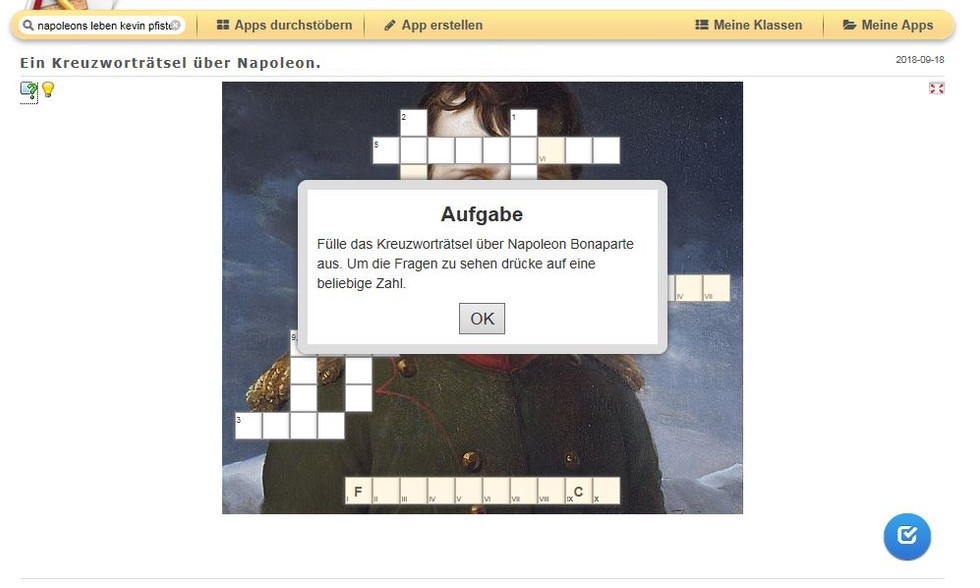 Lernen mit learningapps.org