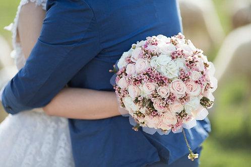 Compact Wedding bouquet