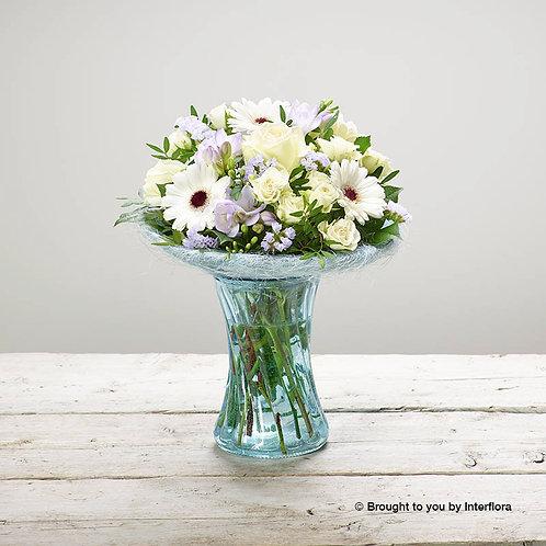 Arctic Blue Vase