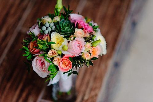 Mixed seasonal flowers