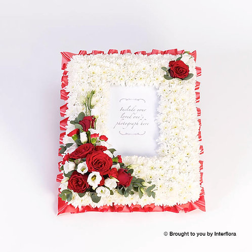 Photo Frame Funeral Tribute